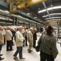 Stalowa Wola: Byli pracownicy HSW odwiedzili nowoczesny zakład