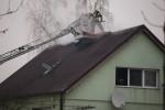 Na miejsce zadysponowano 5 wozów bojowych straży pożarnej, dwa wozy dowodzenia oraz wysokościową drabinę.