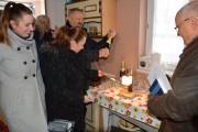 W mroźne wtorkowe południe w murowanej altance Rodzinnego Ogrodu Działkowego Hutnik II w Stalowej Woli zaświeciła nocna lampka i strzeliły korki szampana. Tak uczczone zostało zelektryfikowanie pierwszej działki.