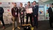 Uczniowie Zespołu Szkół Ponadgimnazjalnych Nr 2 w Stalowej Woli świetnie poradzili sobie podczas Turnieju Budowlanego Złota Kielnia.