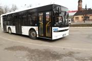Miejski Zakład Komunalny w Stalowej Woli testuje dwa autobusy sanockiej spółki Autosan, której współwłaścicielem jest HSW S.A.
