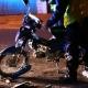 Stalowa Wola: Pijany 25-latek wjechał motorem w zaparkowanego mercedesa
