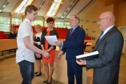 Młody Matematyk to tytuł konkursu, który odbył się na Wydziale Mechaniczno - Technologicznym Politechniki Rzeszowskiej w Stalowej Woli. Jego organizatorem jest od 15 lat Gimnazjum nr 6.