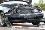 Do wypadku doszło w Turbi nieopodal remizy strażackiej. Kilka godzin wcześniej dokładnie w tym samym miejscu doszło do podobnego wypadku.