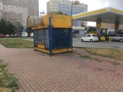 Mieszkańcy odetchnęli z ulgą. Od kilku dni z krajobrazu przy Al. Jana Pawła II nieopodal stacji benzynowej zniknął stary przystanek autobusy.