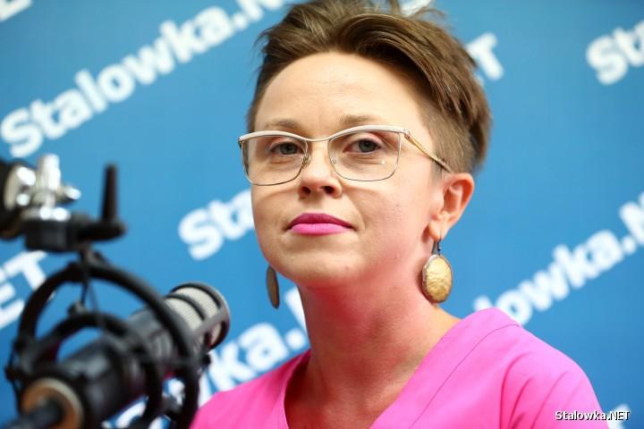 Dr Edyta Lisek-Lubaś, wykładowca i edukator na rzecz osób z różnymi niepełnosprawnościami.