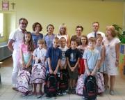 W Szkole Podstawowej numer 5 imienia Energetyków dziesięcioro uczniów otrzymało plecaki z wyposażeniem do nauki w szkole.