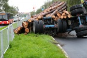 Droga Krajowa nr 77 w kierunku Sandomierza była zablokowana niespełna godzinę.