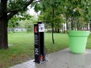 Stacja napraw rowerów na ulicy Wojska Polskiego w Stalowej Woli.