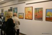 Obrazy 17 artystów przedstawiające różne zakątki Powiatu Stalowowolskiego, można oglądać w Spółdzielczym Domu Kultury w Stalowej Woli.