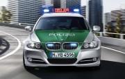 Radiowozy marki BMW są szczególnie popularne za zachodzie Europy.