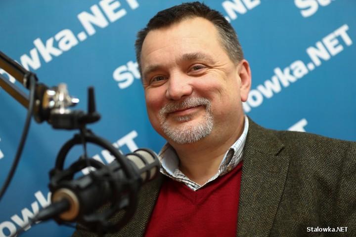 Dr hab. Andrzej Zapałowski, wykładowca akademicki.