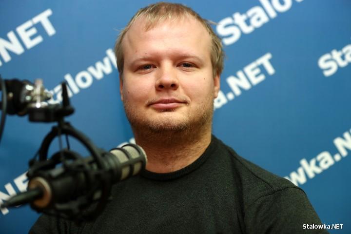 Michał Bis, pasjonat kolei.