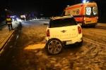 Do zdarzenia doszło na ulicy Sandomierskiej w ciągu Drogi Krajowej nr 77 nieopodal fotoradaru.