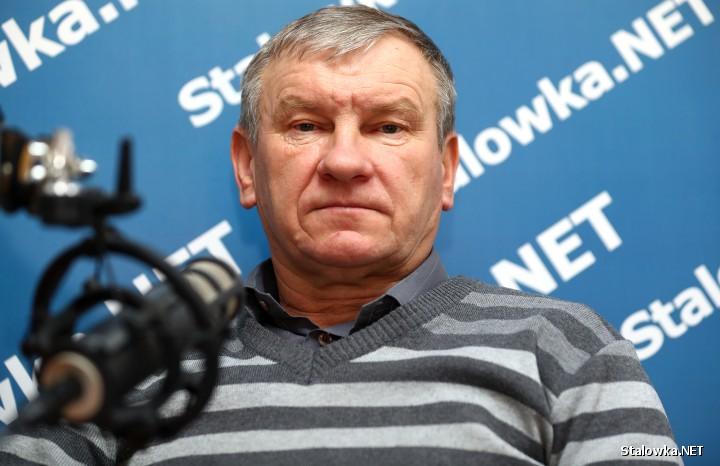 Zenon Gielarek, kierownik schroniska im. św. Brata Alberta dla bezdomnych mężczyzn w Stalowej Woli.