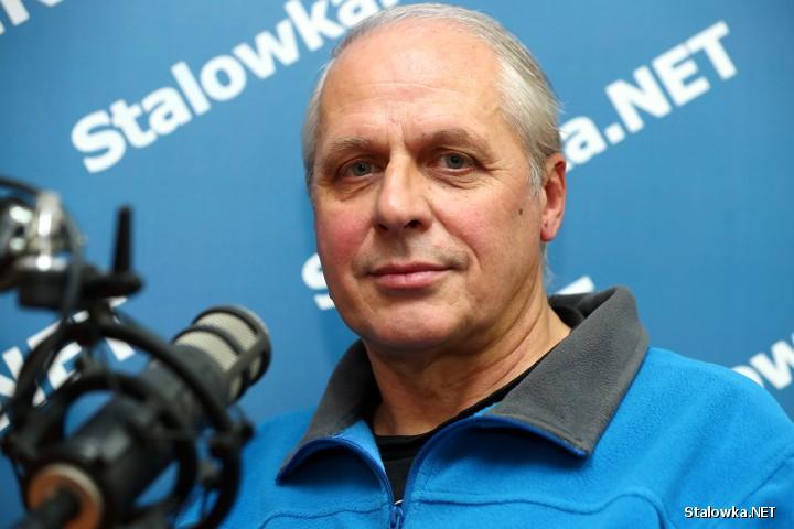 Andrzej Makaran, alpinista ze Stalowej Woli.