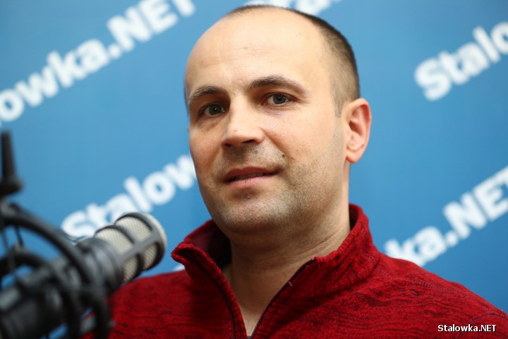 Maciej Oręziak, lekarz weterynarii ze Stalowej Woli.