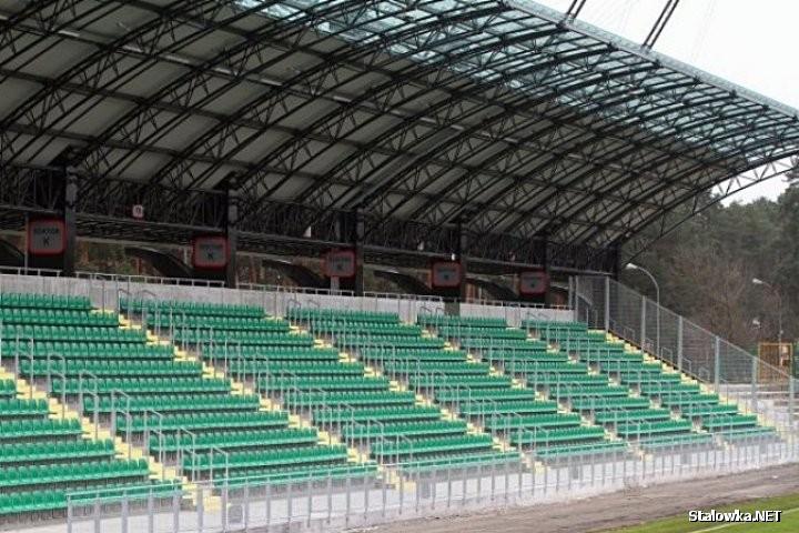 Stadion piłkarski MOSiR - trybuna