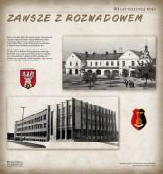 Od 1 kwietnia 2018 roku na Rynku w Rozwadowie można oglądać wystawę plenerową 80 lat Stalowej Woli - zawsze z Rozwadowem.