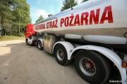W akcji wzięły udział dromadery, które tankowały wodę na lotnisku w Turbi oraz cysterna z 25000 litrów wody z jednostki straży w Stalowej Woli.