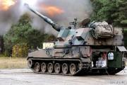 Armato-haubica 155-mm KRAB wyprodukowany w Hucie Stalowa Wola S.A.