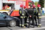 Funkcjonariusze widząc, że żaden z uczestników nie odniósł obrażeń potraktowali zdarzenie jako kolizję.