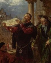 Jan Matejko jest jednym z najważniejszych polskich artystów. Malował głównie kompozycje historyczne.