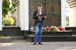 Około 50-osobowy pochód wyruszył z Bazyliki Konkatedralnej, w której wcześniej odprawiono Mszę Świętą w intencji Witolda Pileckiego.