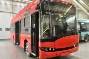 Dziś stalowowolska delegacja odwiedziła fabrykę Solaris Bus & Coach S.A. na zaproszenie polskiego producenta komunikacji miejskiej. Z linii produkcyjnej zjechał już pierwszy pojazd.