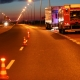 Stalowa Wola: Plama oleju na trasie podskarpowej. Interweniowała straż i policja