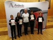 Wszyscy uczniowie reprezentujący szkołę zostali laureatami lubelskeigo festiwalu, w czym jest zasługa także nauczycieli.