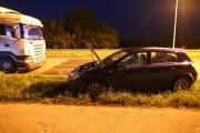 W zdarzeniu nikt nie ucierpiał. Potraktowane zostało jako kolizja. Kierowcę TIR-a, ukarano mandatem karnym.
