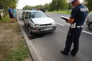 Pracujący na miejscu policjanci ze względu na brak obrażeń potraktowali zdarzenia jako kolizję.