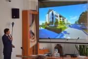 Blok ma być wybudowany w podobnym stylu co dwa poprzednie jakie powstały na ulicy Orzeszkowej i wkomponowywać się architektonicznie w otoczenie. Podobnie będzie ze standardem mieszkań.