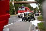 Do pożaru auta doszło na ulicy Energetyków w Stalowej Woli.