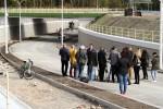 Na na nowym łączniku drogowym ulic Energetyków z ulicą Grabskiego w Stalowej Woli odbyła się konferencja prasowa z udziałem ubiegającego się o reelekcję prezydenta miasta Lucjusza Nadbereżnego.