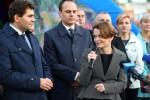 W Stalowej Woli gościła Jadwiga Emilewicz, minister przedsiębiorczości i technologii w rządzie Mateusza Morawieckiego. To nowy resort funkcjonujący od stycznia 2018 roku.