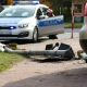 Stalowa Wola: Ścięła znak drogowy i sygnalizator