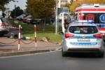 Do wypadku doszło na osiedlu Centralnym na skrzyżowaniu ulicy ks. Jerzego Popiełuszki z ulicą gen. Leopolda Okulickiego.