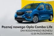 W dniach 12-20 października w Salonie Opel SAMKO w Stalowej Woli odbędzie się Premiera Nowego Opla Combo Life podczas Dni Rodzinnego Biznesu.