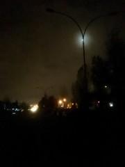 Egipskie ciemności nad osiedlem Młodynie w Stalowej Woli.
