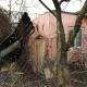 Stalowa Wola: Pożar altany na ogródkach działkowych za elektrownią