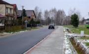 W Kępiu Zaleszańskim na całej długości 990 -metrowego odcinka został wykonany ciąg pieszy o szerokości 2 metrów.
