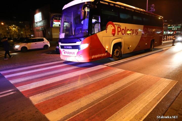 Do potrącenia mężczyzny doszło na ulicy Okulickiego w Stalowej Woli.