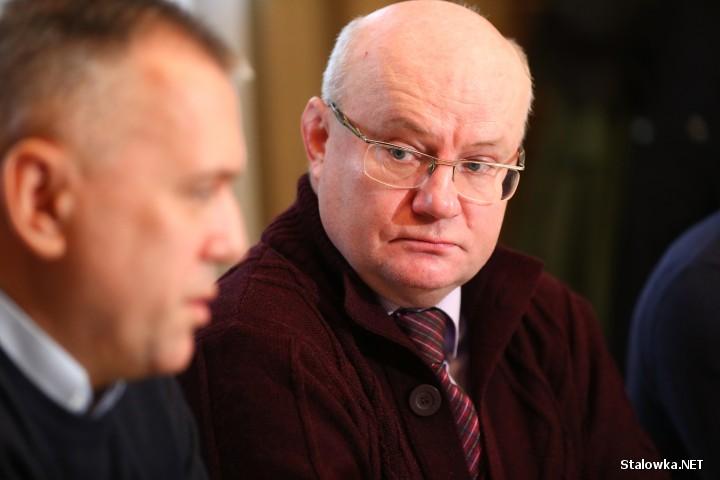 Radni: Andrzej Szymonik, Andrzej Szlęzak i Damian Marczak zwołali konferencję prasową na temat podwyżek cen energii elektrycznej.