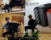 W części konkursowej Festiwalu (odbywającej się na Zamku Kazimierzowskim i w Sali Lustrzanej ZPSM) zaprezentowali się uczniowie ze stalowowolskiej Państwowej Szkoły Muzycznej I i II stopnia.