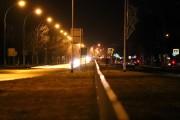 Awaria oświetlenia prawej części Alej Jana Pawła II w kierunku Rozwadowa.