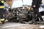 Do groźnego wypadku doszło na trasie Stalowa Wola - Sandomierz. 3 osoby zostały ranne.
