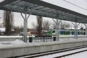 Pasażerowie korzystają z nowego peronu nr 2. Są nowe wiaty, ławki i informacja pasażerska. Na stacji wymieniono tory. Jest nowa sieć trakcyjna.