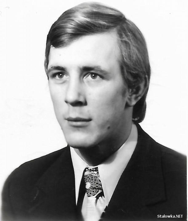 Zdjęcie paszportowe Janusza Janowskiego z roku 1979.